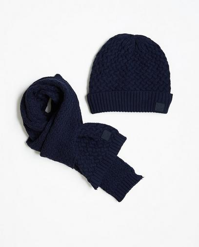 Écharpe et bonnet